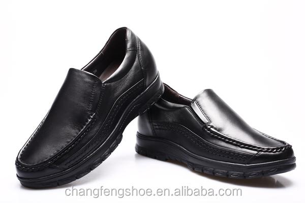 Italian leather men dress shoes comfortable elevator high heel ...