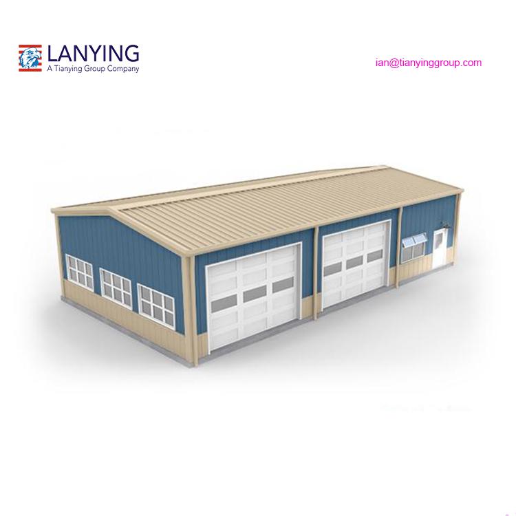 Сборная стальная конструкция мастерская сарай низкая стоимость промышленный сарай