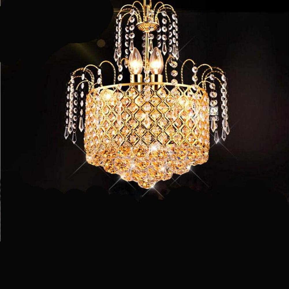 Wei-d Ceiling Fixture Pendant Lamp Modern Minimalist Restaurant Crystal Chandelier Aisle Kitchen With LED Chandelier Bedroom Chandelier , 40cm