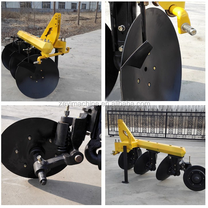 2017 hot sales tractor Fish Baldan disc plow disc plough for sales