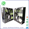 reinforced custom logo shopping bag with handles, stand up paper bag