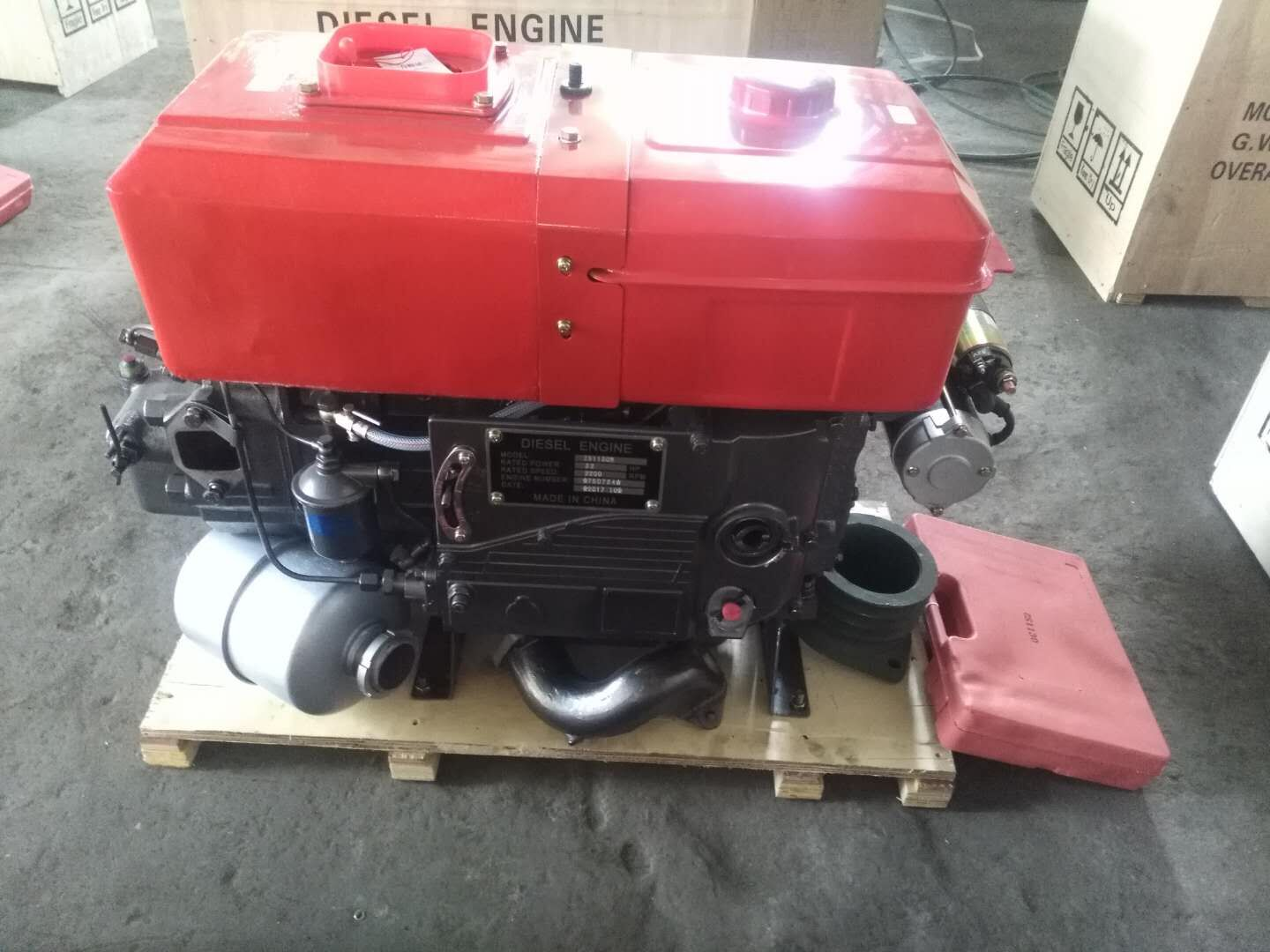 Chang fa series single cylinder tractor 22kw 30hp diesel engine