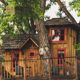 Denchwood Popular Wooden Tree House with Cheap Price Prefab House for Kids