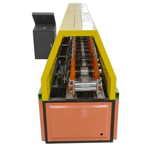 Easy And Simple To Handle Euro Style Kinds Of Light Cold Steel Drawer Slide Piece Roll Forming Making Machinery