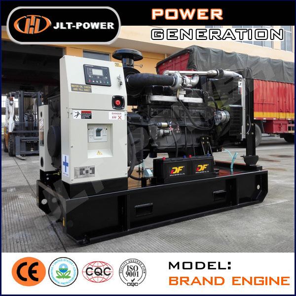 Wholesale Open Type 100kva Generator Three Phase Water-coolded Genset with Diesel Motor