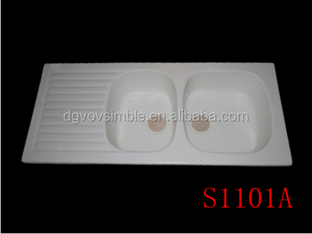Acrylic Integral Solid Surface Kitchen Sink,European Style Kitchen ...