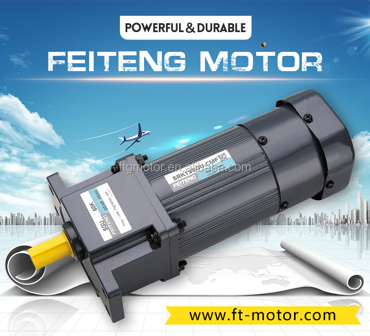 110v 220v 380v 1 phase or 3 phase diameter 60 70 80 90 100 power 6w to 200w Micro AC Gear Motor with Gearbox