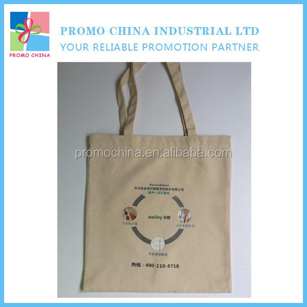 Customized Different Size OEM Canvas Shopping Bag With Logo Printed