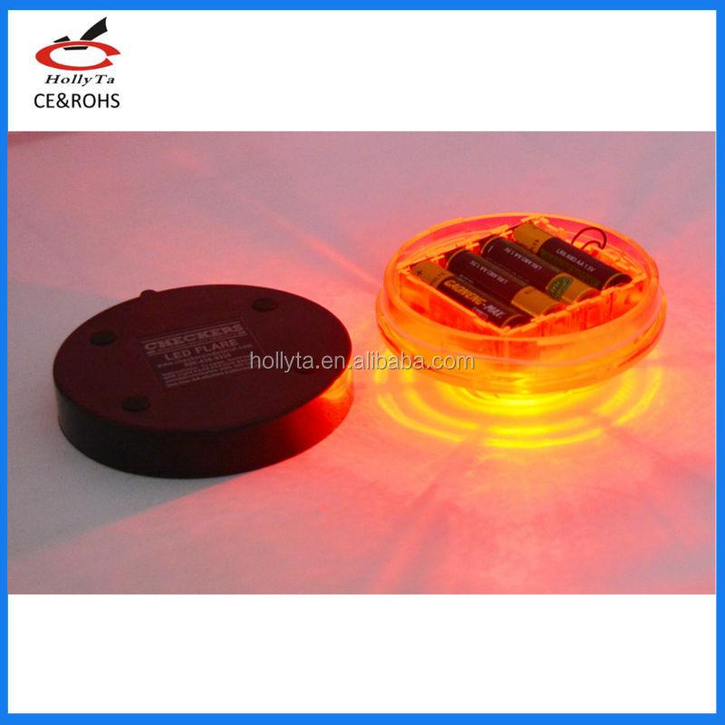 Wholesale Led Round Battery Powered Magnetic Base Strobe