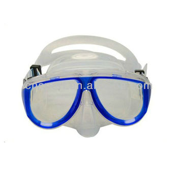 2017 Yiwu Manufacturer Hot Sale PC Lens Adult Diving mask