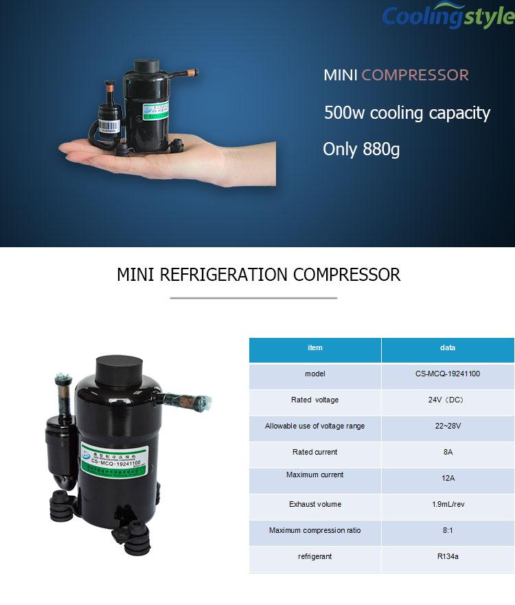 Micro National Small 24 Volt Dc Air Conditioner Compressor