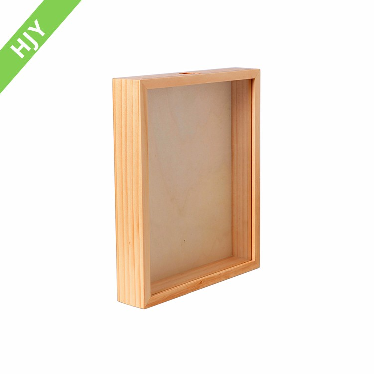 Competitive Natural 9x6 Decorate Shabby Wood Frame Photo Shadow Box ...