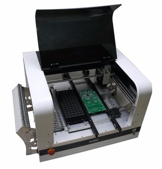 Hot SMT Pick place machine voor LED PCB solderen, handleiding pick place machine