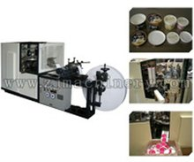 Paper cup automatic paper cover making machine