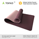 Fitness TPE Yoga Mat 7mm Thick Non-Slip Double Layer Soft Design