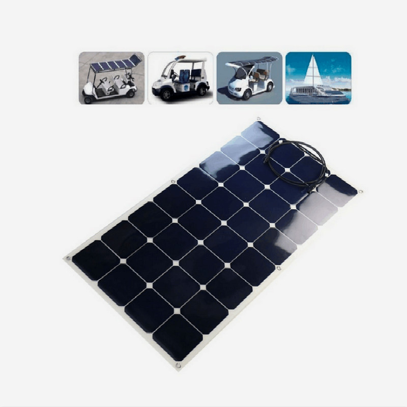 100W Best Seller China Factory Direct Offer Semi Flexible Solar <strong>Panel</strong>