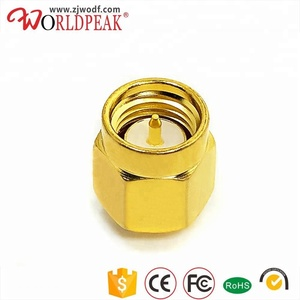 Electrical rf connector china supplier SMA male plug to UFL male plug coaxial adapter