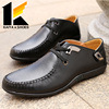 CHINA FASHION CHEAP MAN'S BLACK LEATHER DRESS SHOES