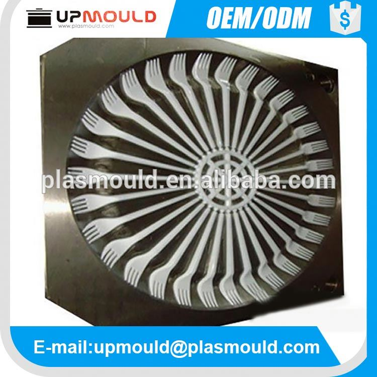 power adapter injection plastic mould disposable plastic fork mould