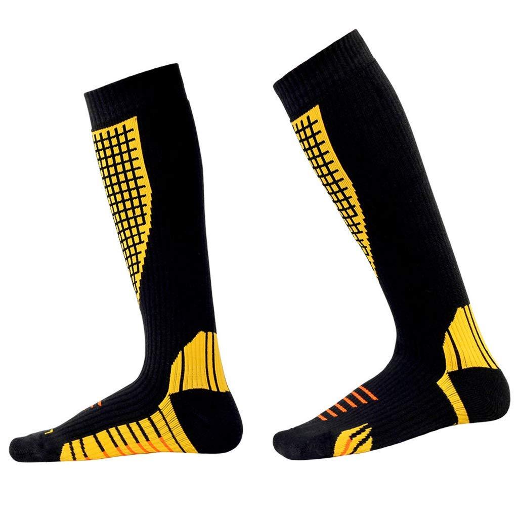Compression Socks Women Ski Hiking Socks Men Wicking Athletic Thermal Crew Socks