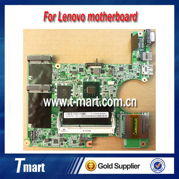Original laptop motherboard DAFL5CMB6C0 Rev:C for Lenovo S10-3 with CPU Intel Atom N455 fully tested working well