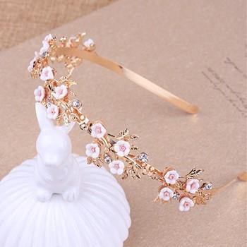 Latest hairband design gold flower headband womens designer headbands 6cad7245e28
