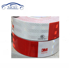 Red & White Reflective tape 3M 983 series Reflective tape Light Reflecting material