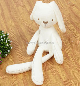 2018 Cute Rabbit Doll Baby Soft Plush Toys For Children Sleeping Mate Stuffed &Plush Animal Baby Toys For Infants