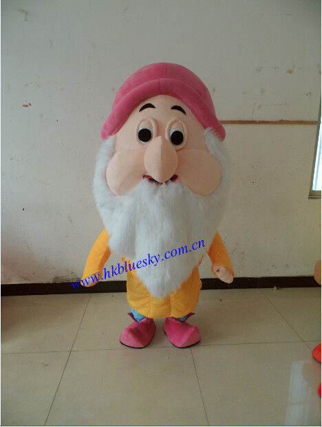 (doc,Grumpy,Happy,Sleepy,Bashful,Sneezy,Dopey) Seven Dwarfs Mascot Costumes  For Christmas Party - Buy Seven Dwarfs Mascot Costumes,Seven Dwarves