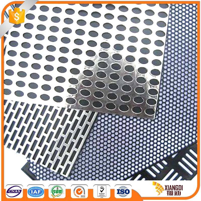 Environment-friendly punched tin perforated aluminum sheet