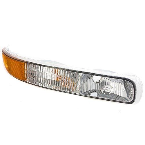 CarPartsDepot Front Passenger Right Bumper Signal Light 99-02 Chevy Silverado 1500 2500