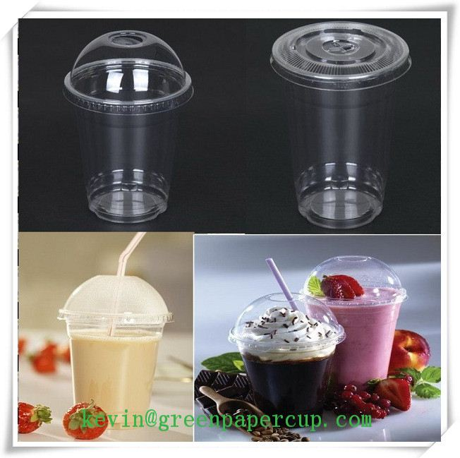 portion cup / 8 oz clear plastic round deli container / bubble tea custom plastic cups with good quality