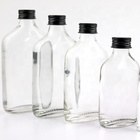 Aluminium Cap Glass Bottle for Alcohol Drinks 500mL Whiskey Vodka Juice Liquor Glass Bottle