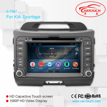"7"" HD Touch screen for kia sportage 2010- 2013 navigation multimedia with GPS, ipod, usb, dvd, camera, dvb-t"