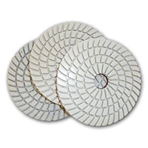 Toolocity JHXR0211-54 5-Inch JHX 3-Step Diamond Polishing Pads, Set of 3 by Applied Diamond Tools