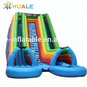 High quality used swimming pool slide, outdoor slides for adults