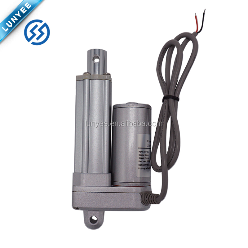 Electric Mini Linear Actuator 24V <strong>DC</strong> IP66