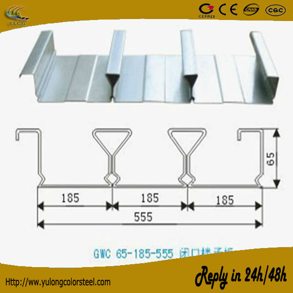galvanized metal floor decking