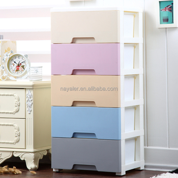 Cheap Cabinet Mini Plastic Storage Drawers 5 Tier Small Drawers