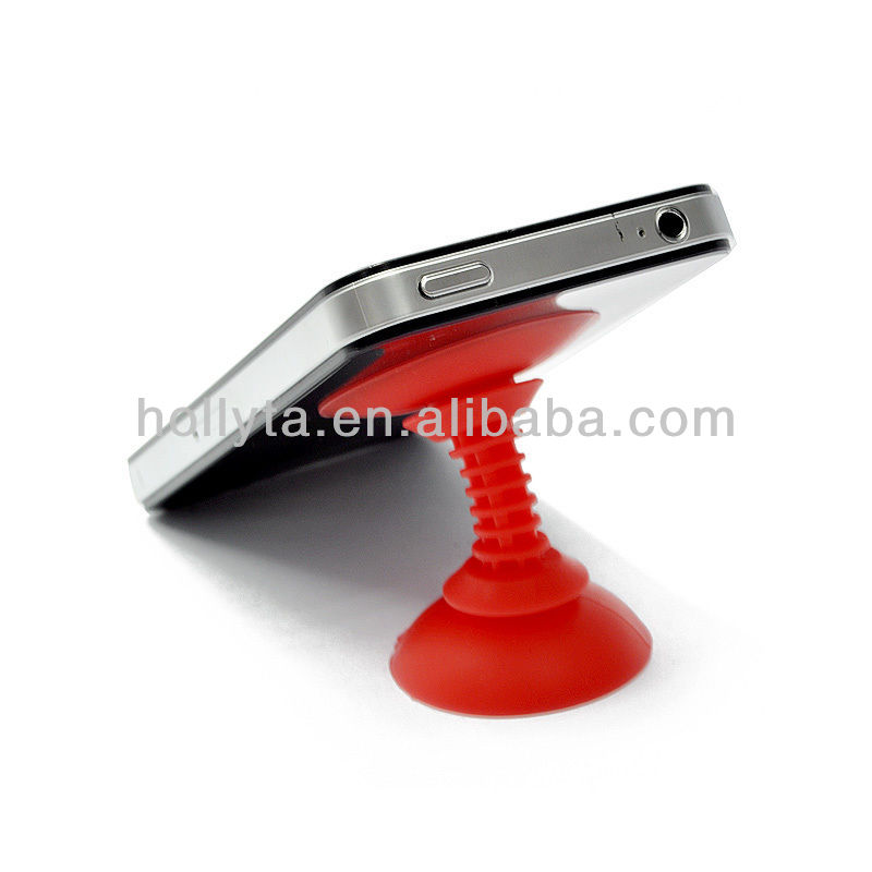 Hot Sale Double Suction Silicone Phone Stand For All Phone