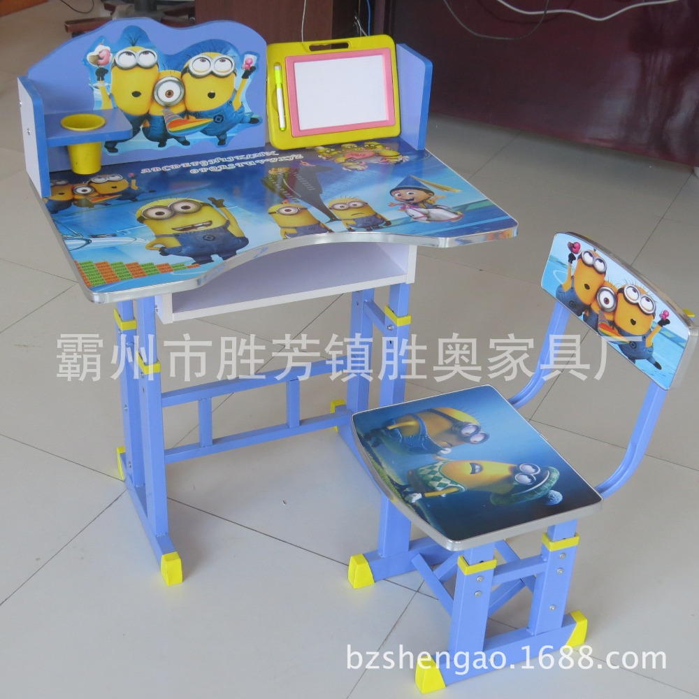 BZshengao X8 lifting children study table kids desk with angle adjustable worktop study table for factory sale