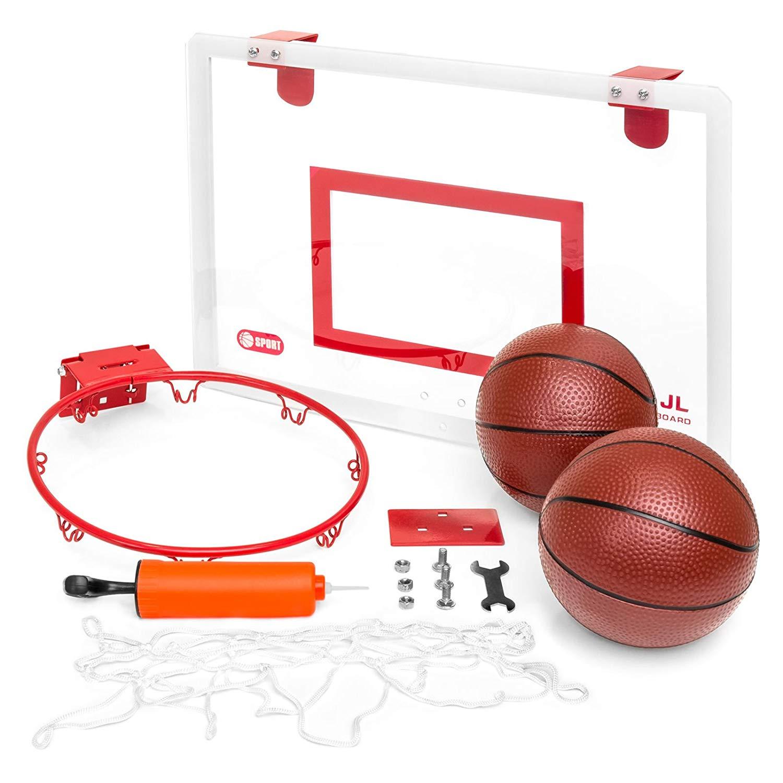 Caraya Hangable Mini Basketball Board With Hoop Ball Pump Tools