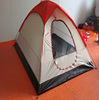 5 person double layer family camping tent