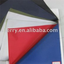 100% polyester waterproof 190T silver coated plain dyed umbrella taffeta fabric