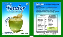 Tender Coconut <span class=keywords><strong>Water</strong></span> Poeder