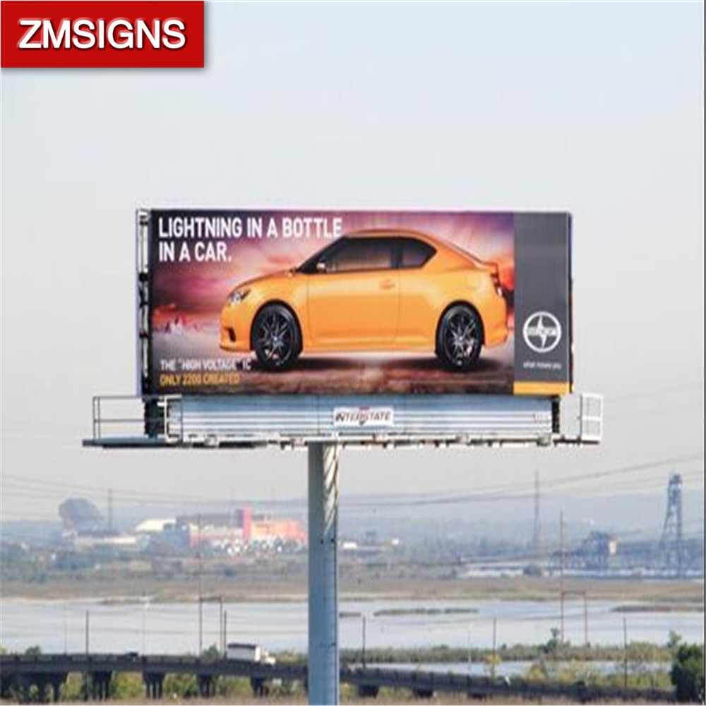 Professional manufacturer Advertising Billboard Construction