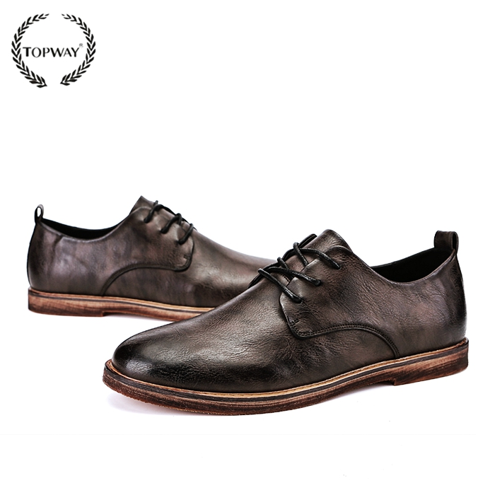 Men's Shoes Snake Leather Men Oxford Shoes Lace Up Casual Business Men Pointed Shoes Brand Men Wedding Men Dress Boat Shoes To Enjoy High Reputation At Home And Abroad
