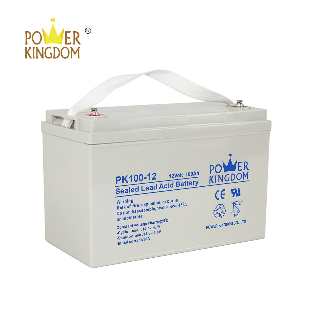 Power Kingdom agm battery cca inquire now solar and wind power system-2