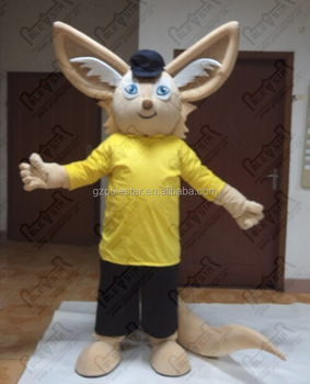 big ear fox mascot costumes