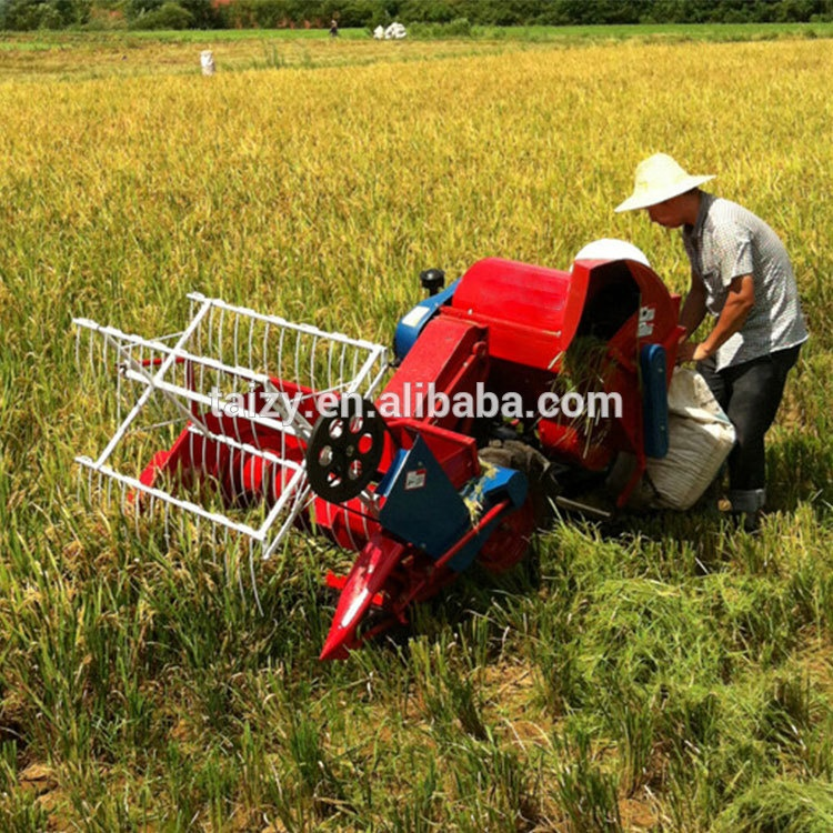 diesel engine rice thresher wheat harvester machine mini combine harvester price